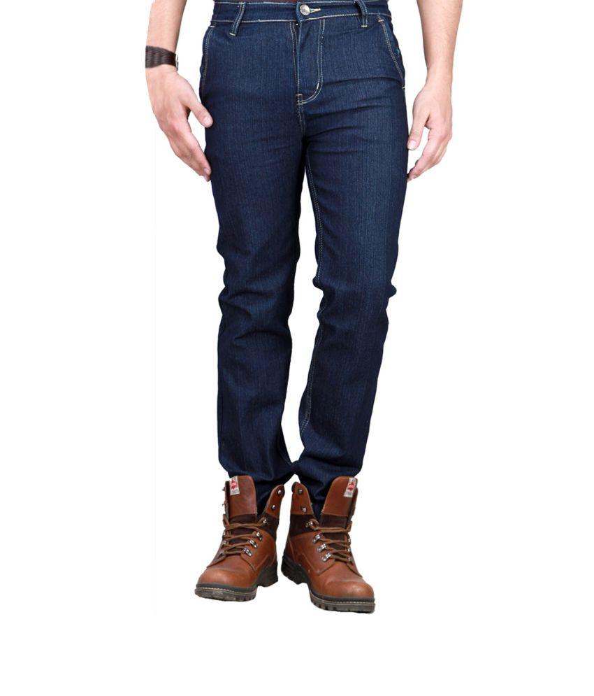 Western Texas 96 Blue Men Streachable Jeans