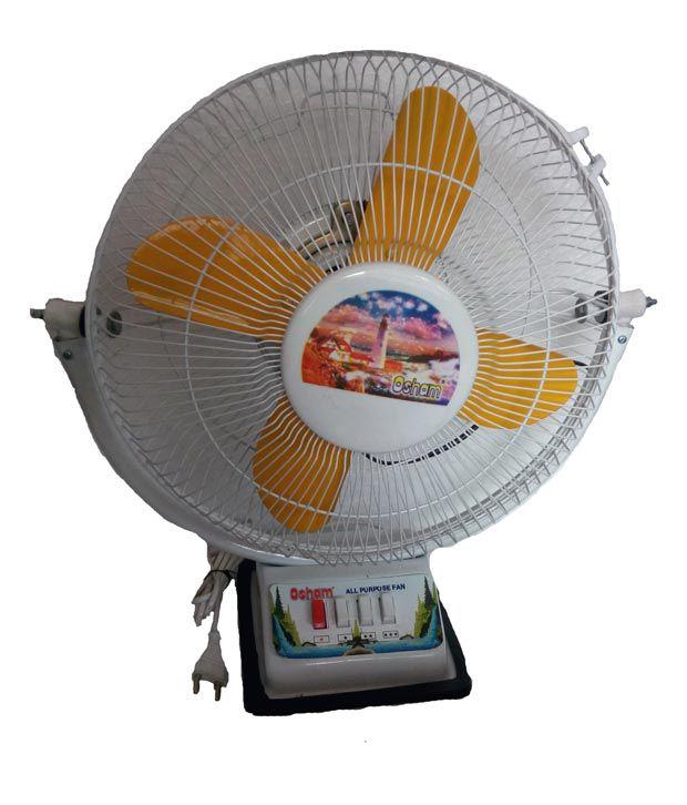 Osham High Speed Multipurpose Table fan