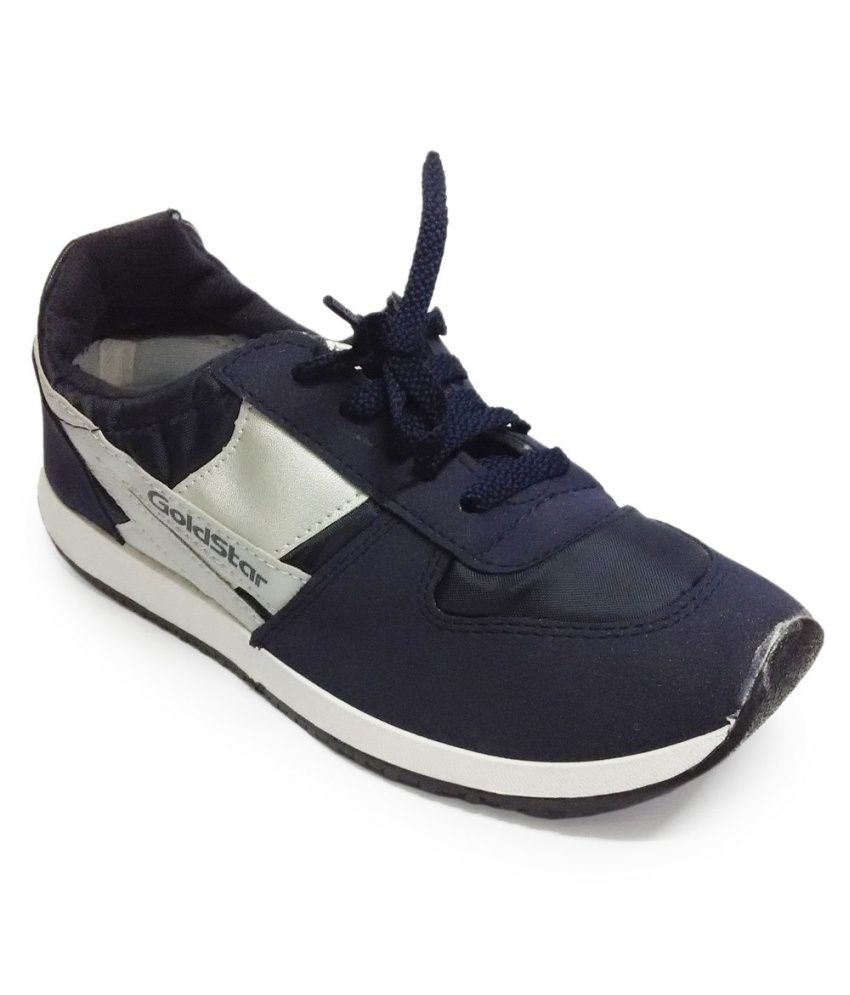 4fe600d1eb2 Goldstar Blue Synthetic Leather Sport Shoes - Buy Goldstar Blue Synthetic  Leather Sport Shoes Online at Best Prices in India on Snapdeal
