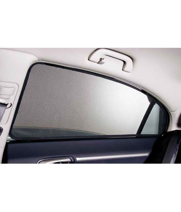 Curtains Ideas car window curtain : Magnetic Sun Shade Curtain For Maruti Swift Dzire 2015 Model: Buy ...