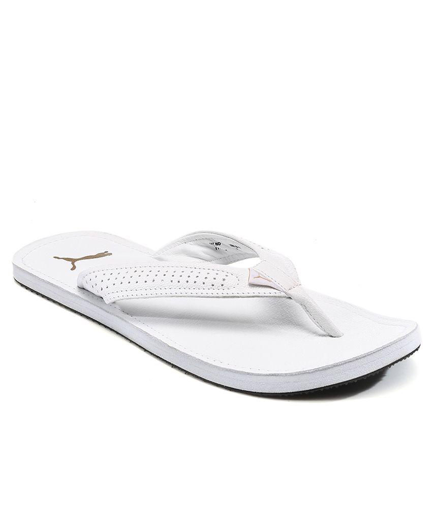 Puma Java 3 White Flip Flops Price in India- Buy Puma Java 3 White Flip  Flops Online at Snapdeal 6c48f54ac