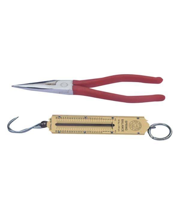 Rajhans-Pocket-Balance-50-Kg-And-Long-Nose-7-Inch-Combo