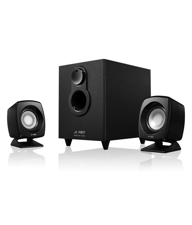 F&D F203G 2.1 Desktop Speakers - Black By Snapdeal @ Rs.999