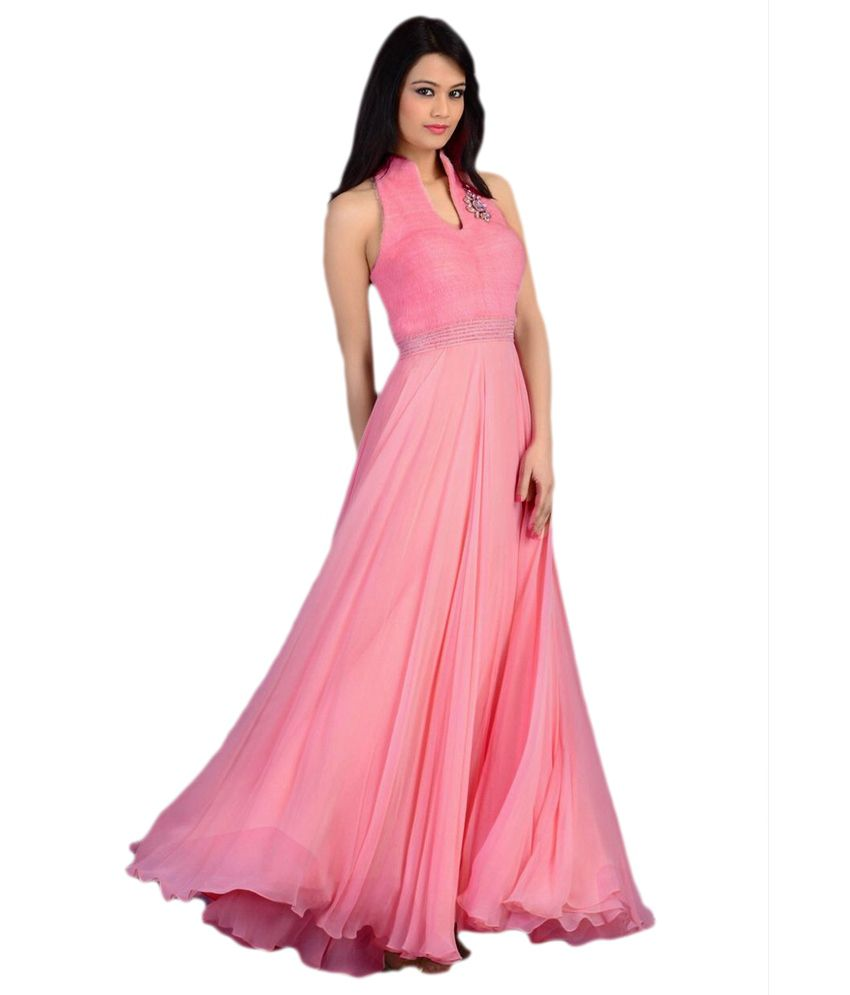 Fashion Book Pink Velvet Gowns - Buy Fashion Book Pink Velvet Gowns ...