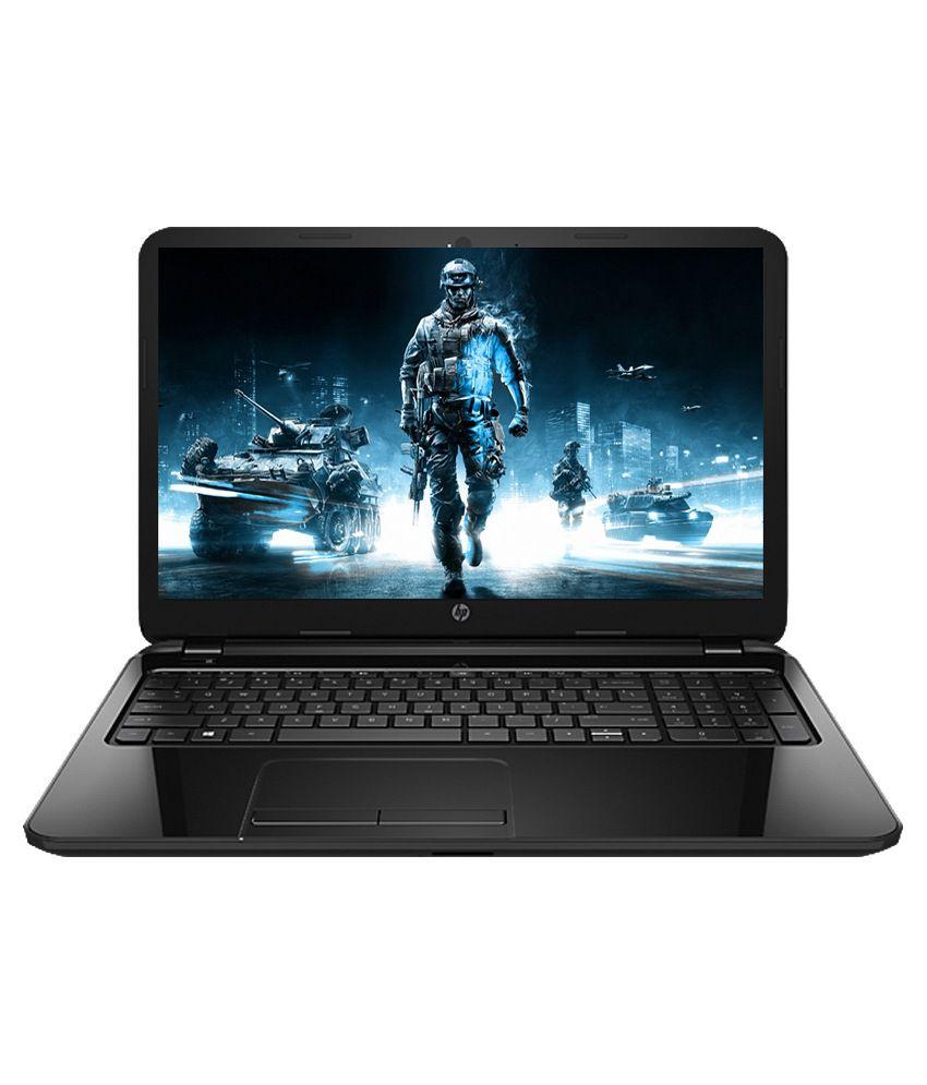 HP 15-r203TX Notebook (K8U03PA) (5th Gen Intel Core i5- 4GB RAM- 1TB HDD- 39.62cm (15.6)- DOS- 2GB Graphics) (Black)