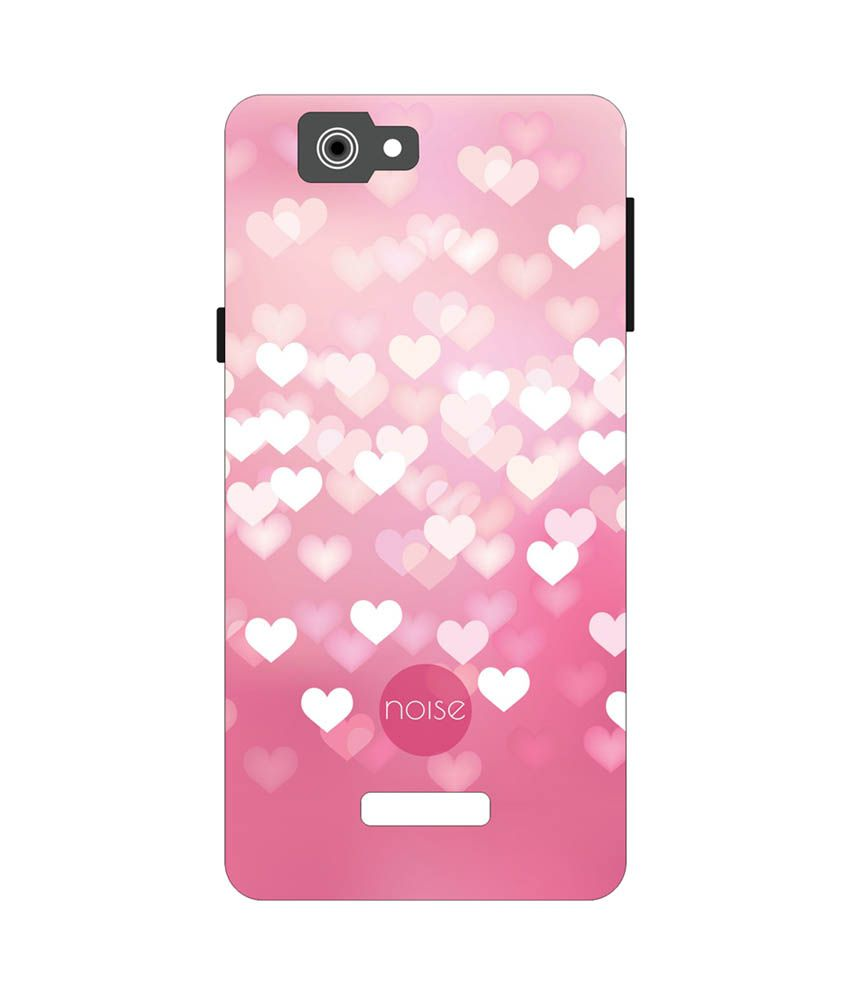 best website 01ded ca5b8 Noise Back Cover For Micromax Canvas 2 A120 - Flying Hearts ...