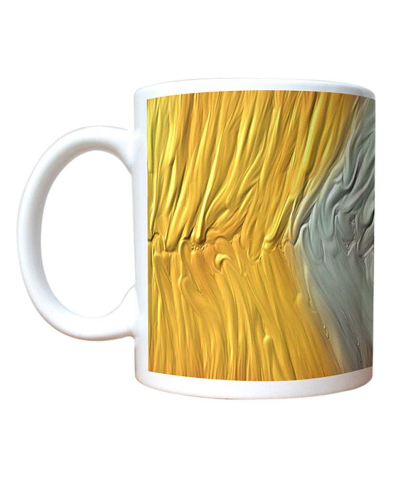 Stybuzz Tricolor Abstract Art Mug
