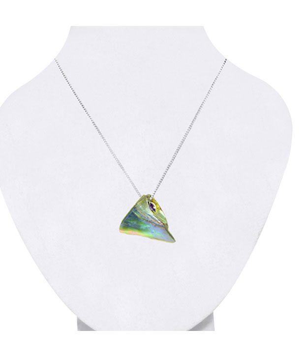 Arsh Crown Sky Dominion Handgraved Designer 925 Sterling Silver Necklace