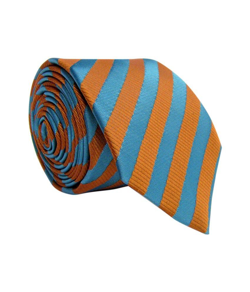 Monte Rosso Blue Micro Fiber Formal Neck Tie