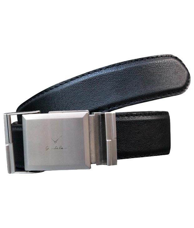 Winsome Deal Attractive Black Belt For Men