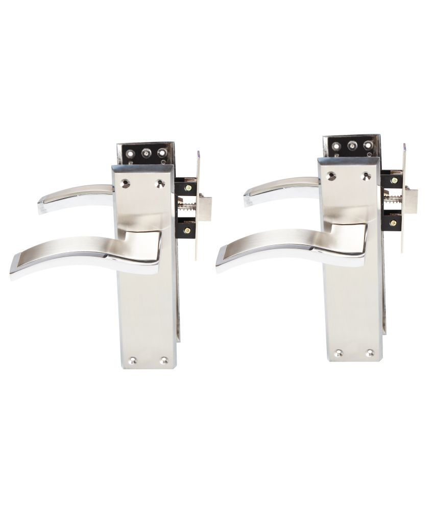 Sunrise Luxury Mortice Pair For Bathroom Door With Mortice Latch & Screws Complete Set (Pack Of 2 Pairs)