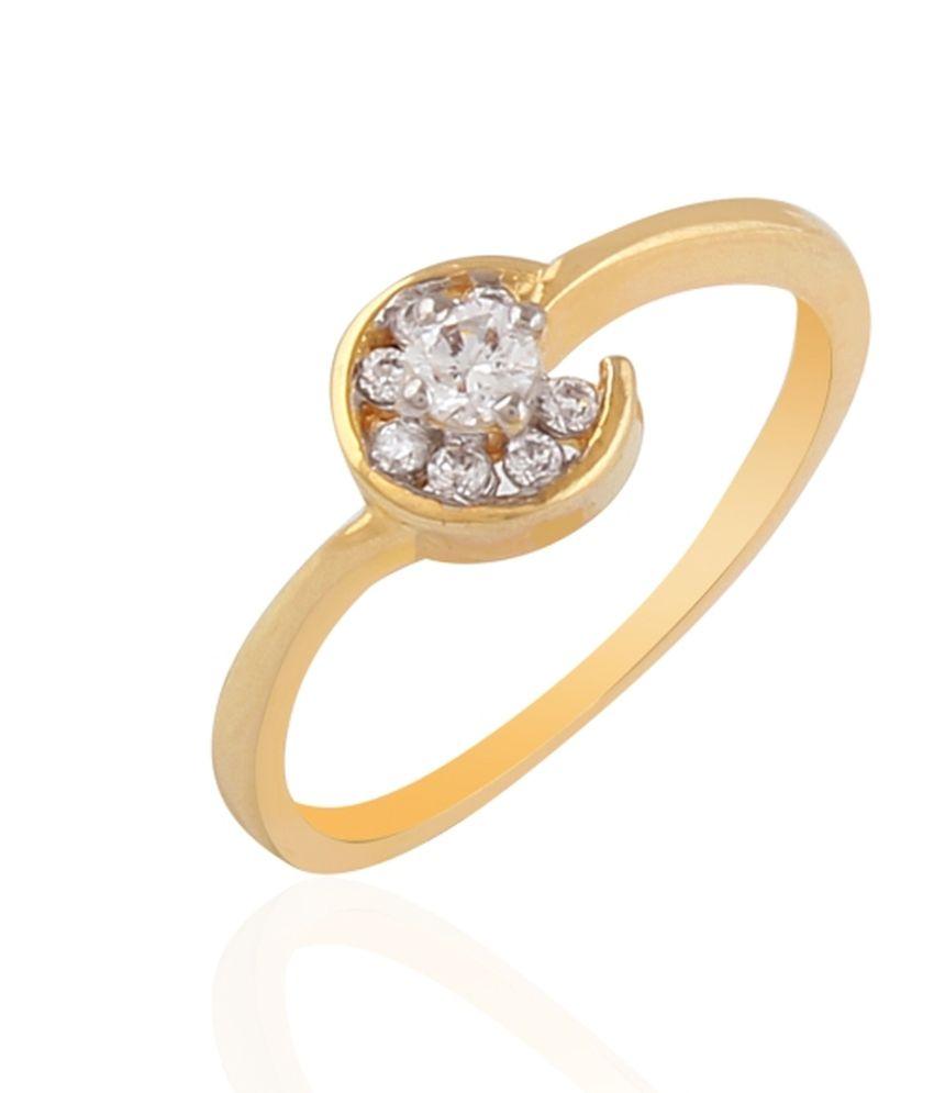 Balaji Jewels Traditional 18kt Gold Diamond Ring