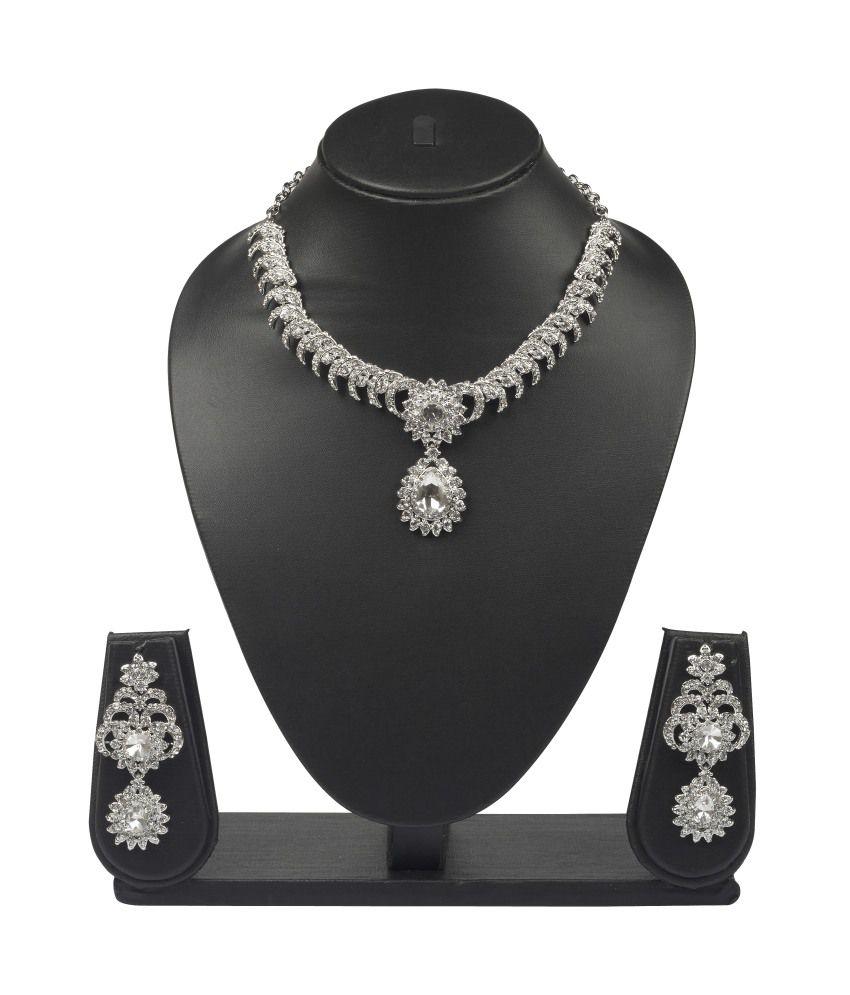 Vk Jewels Amazing Necklace Set - Combo Of 2