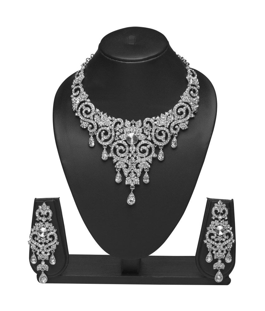 Vk Jewels Youthful Necklace Set - Combo Of 2
