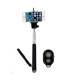 Jo Jo Monopod With Bluetooth Shutter Extendable Self Portraits Selfie Stick Handheld