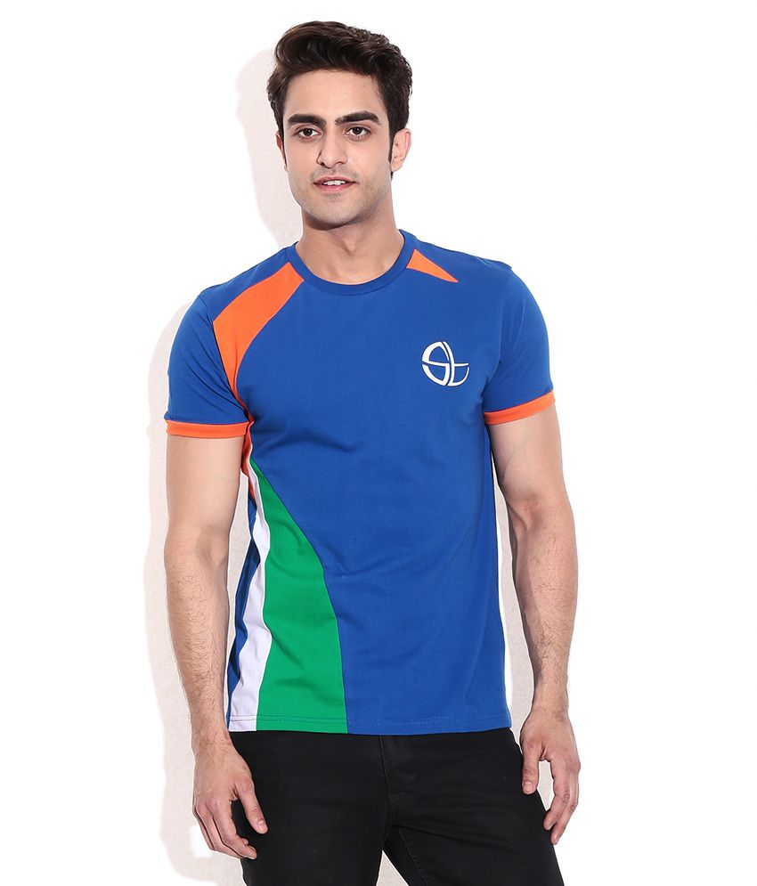 Collectabillia Sachin Tri Color Spary T-Shirt