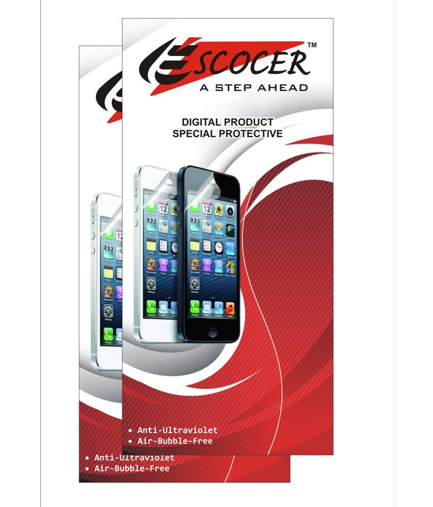 Samsung Galaxy A3 A300F Clear Screen Guard by Escocer
