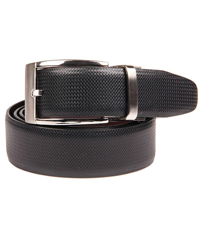 Franco Leone Black Formal Belt