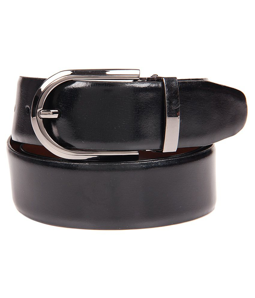 Franco Leone Black Formal Belt