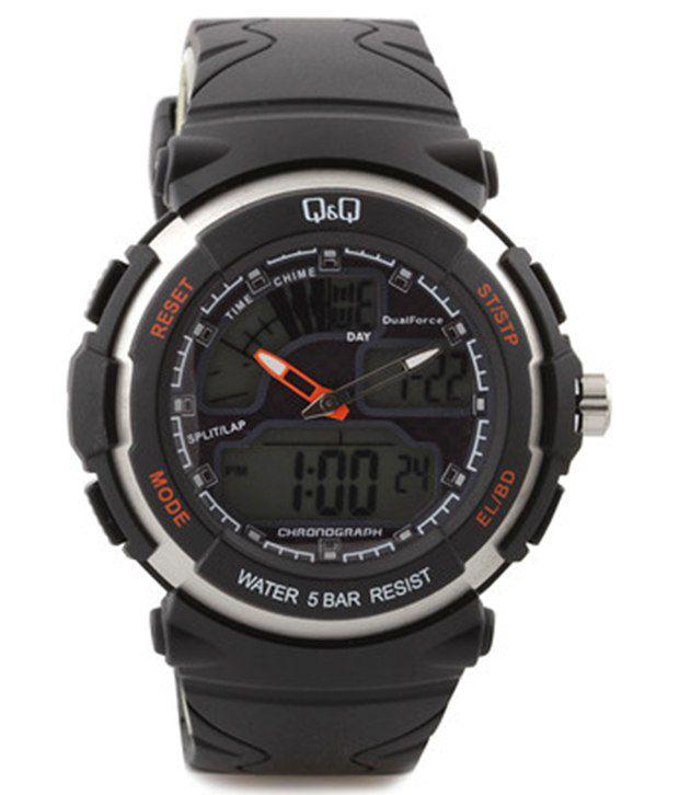 q q ananlog and digital watch for men m012 003 buy q q ananlog q q ananlog and digital watch for men m012 003