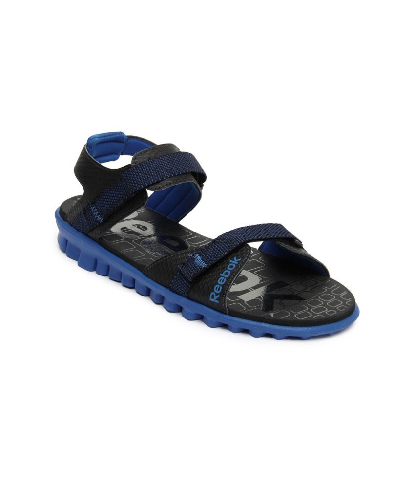 2c0dceef9d26f Reebok Black Floater Sandals - Buy Reebok Black Floater Sandals Online at  Best Prices in India on Snapdeal