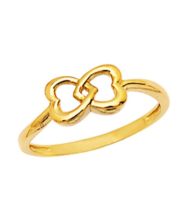 1 For Me 18kt Gold BIS  Hallmarked - Office , Casual & fun time Ring