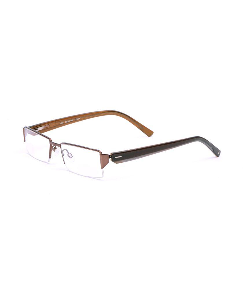 Comfortsight Copper Semi Rim Frame Eyeglass - Buy Comfortsight ...