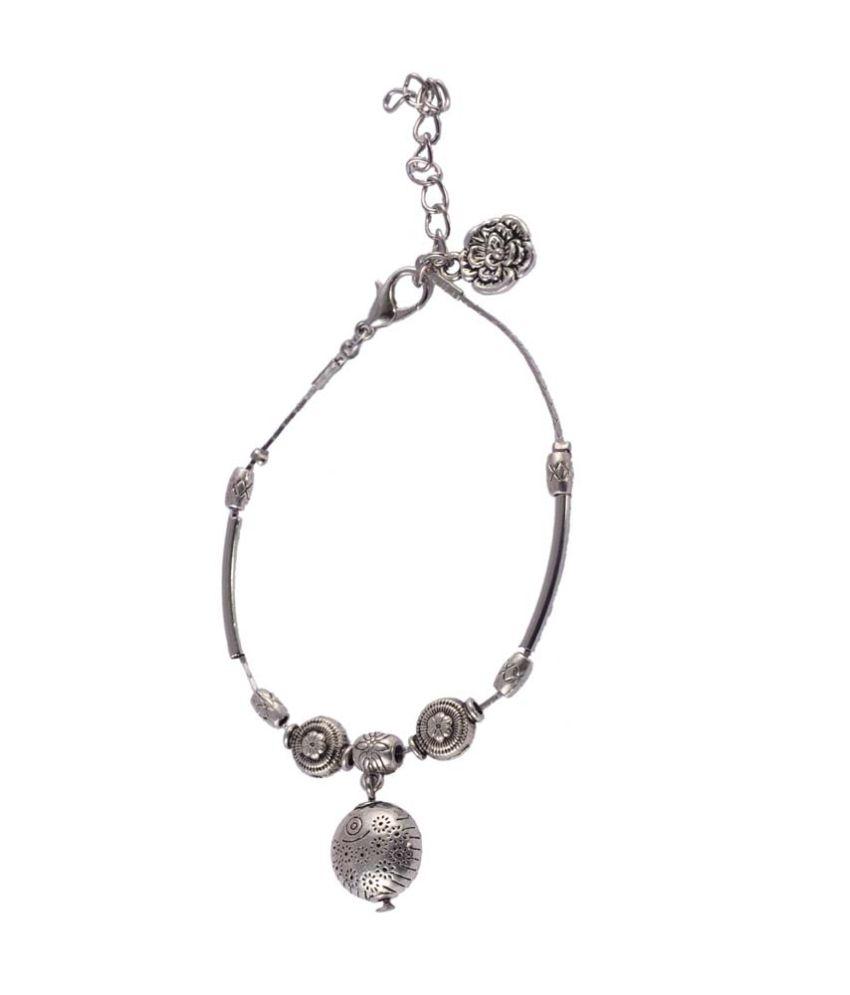 Jewelizer Style Diva Alloy Charm Bracelet