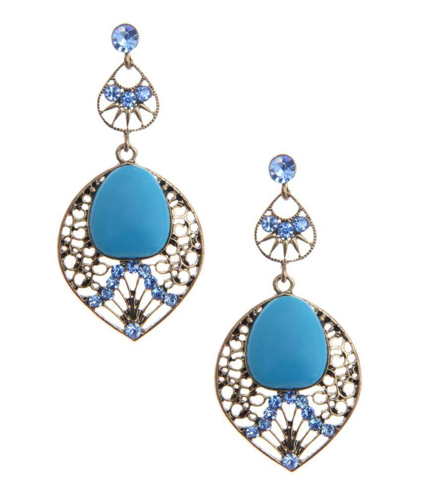 Jewelizer Style Diva Alloy Drop Earrings