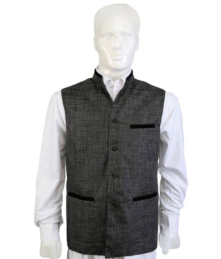 Selfieseven Dashing Gray Waistcoat