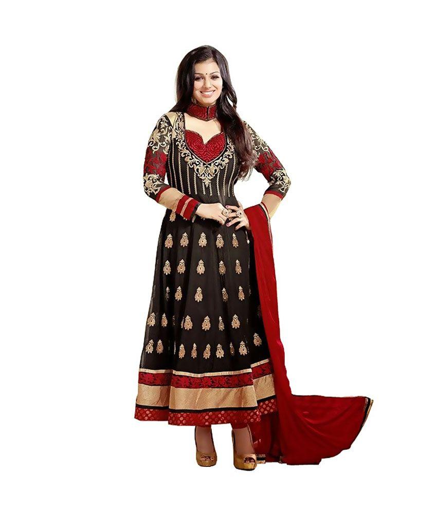 c4eaabe600 Sai Trend Georgette Kurti With Salwar - Stitched Suit - Buy Sai Trend  Georgette Kurti With Salwar - Stitched Suit Online at Low Price -  Snapdeal.com