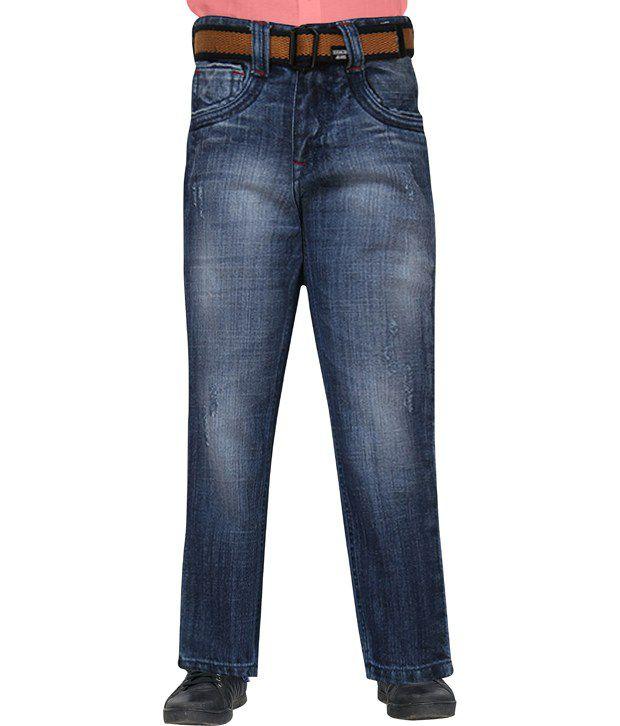 Lokesh Garments Cotton Blend Regular Jeans