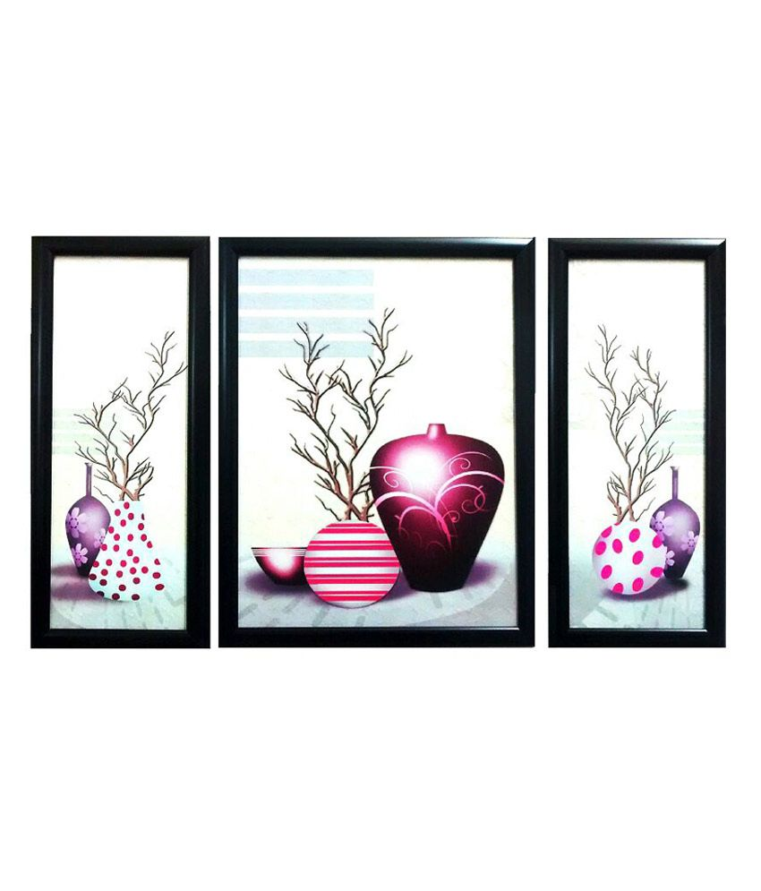 Modi Art And Craft Wall Decor Canvas Floral Painting