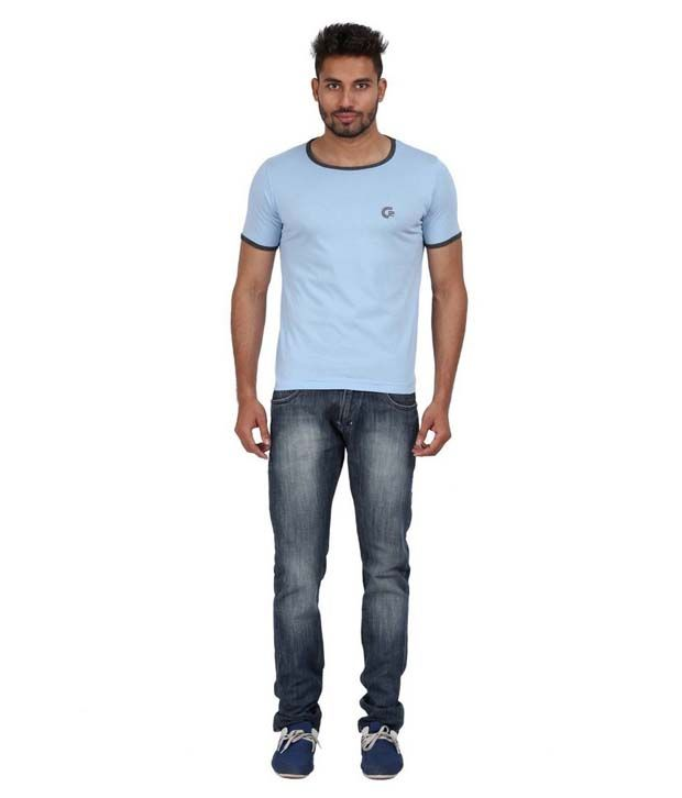 Goflaunt Young And Trendy Men's Ringer Tee