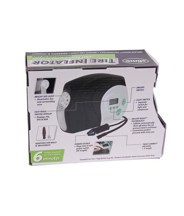 Inflators Car Tyre Inflator Digital Gauge 12 V DC: Buy Inflators Car Tyre Inflator Digital Gauge ...