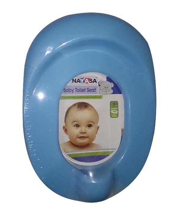 Nayasa Baby Toilet Seat - Blue