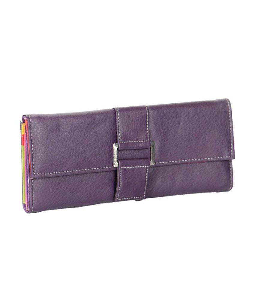 Adora Casual Medium Purple Ladies Wallet