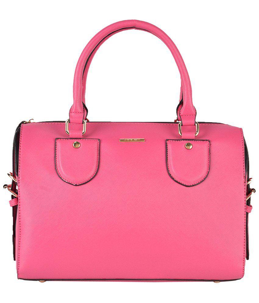 Diana Korr Dk31hpnk Pink Shoulder Bags
