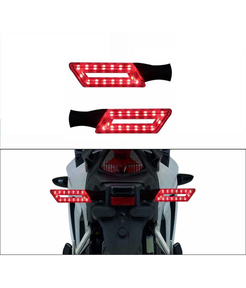 Spedy Red Stylish Led Bike Indicators For Bajaj Pulsar 150 Dts I