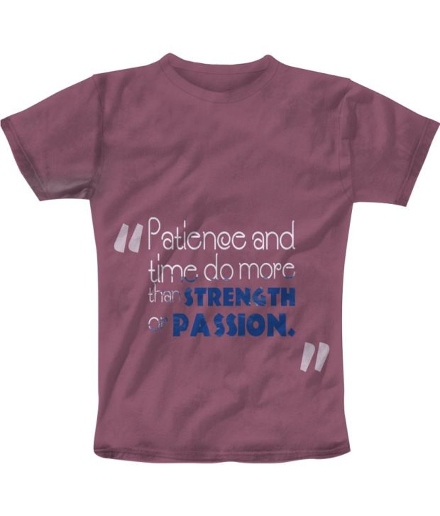 Freecultur Express Peachpuff Cotton Blend T-shirt