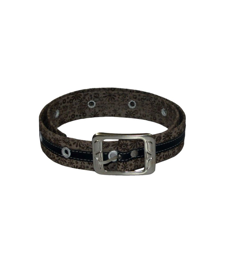 Gen Canvas Pin Buckle Belts