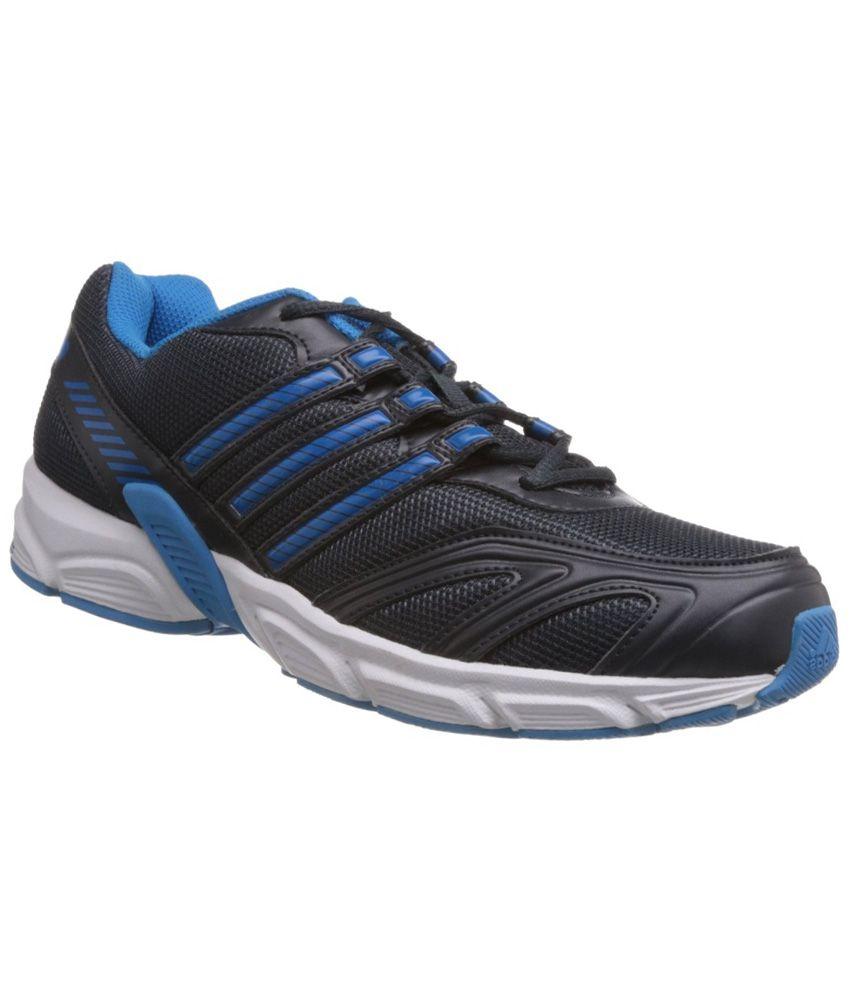 Adidas Blue Mesh Textile Sport Shoes