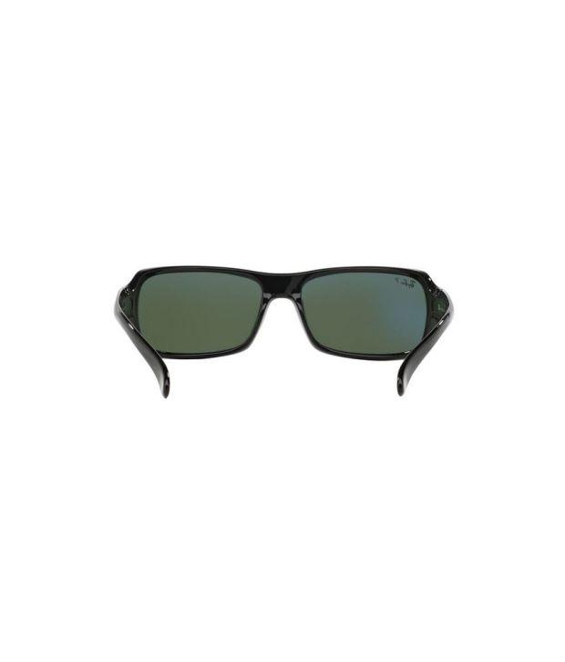 f9e453ceffb Free Installation. Ray-Ban RB4075 601 58 Rectangle Black   Green Sunglasses  Ray-Ban RB4075 ...
