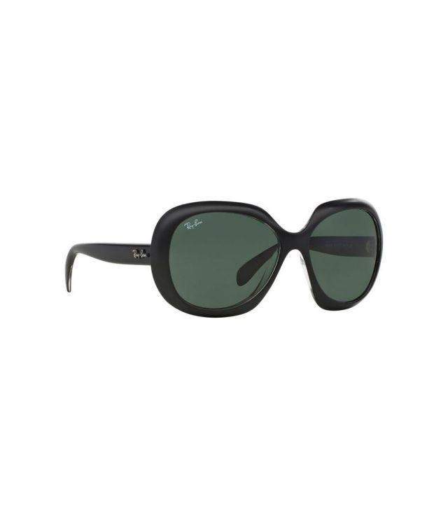 Ray-Ban RB4208 610071 Cat Eye Black   Green Sunglasses - Buy Ray-Ban ... 0d7908cfd4b