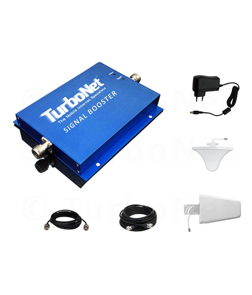 Turbonet 2g/3g 900/2100 Mhz Dual Band Mobile Signal Booster Kit (r17g-gw/d1)