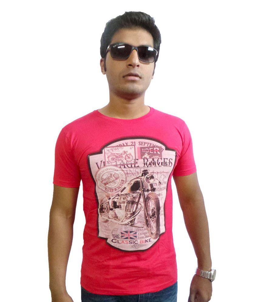 Ever Since Fashion Forward Round Neck Cotton T-shirt