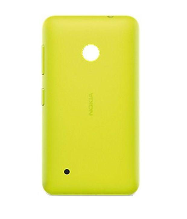 separation shoes 80e14 08e57 Nokia Lumia 530 Battery Back Panel Yellow