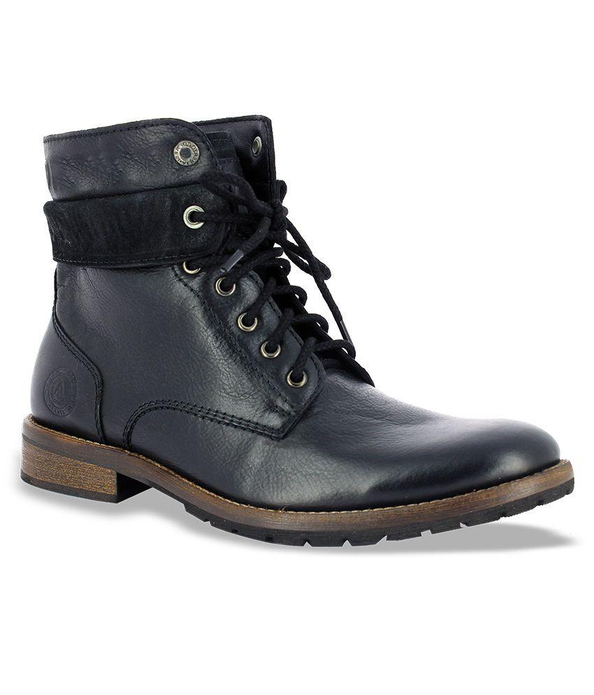 Alberto Torresi Black Boots
