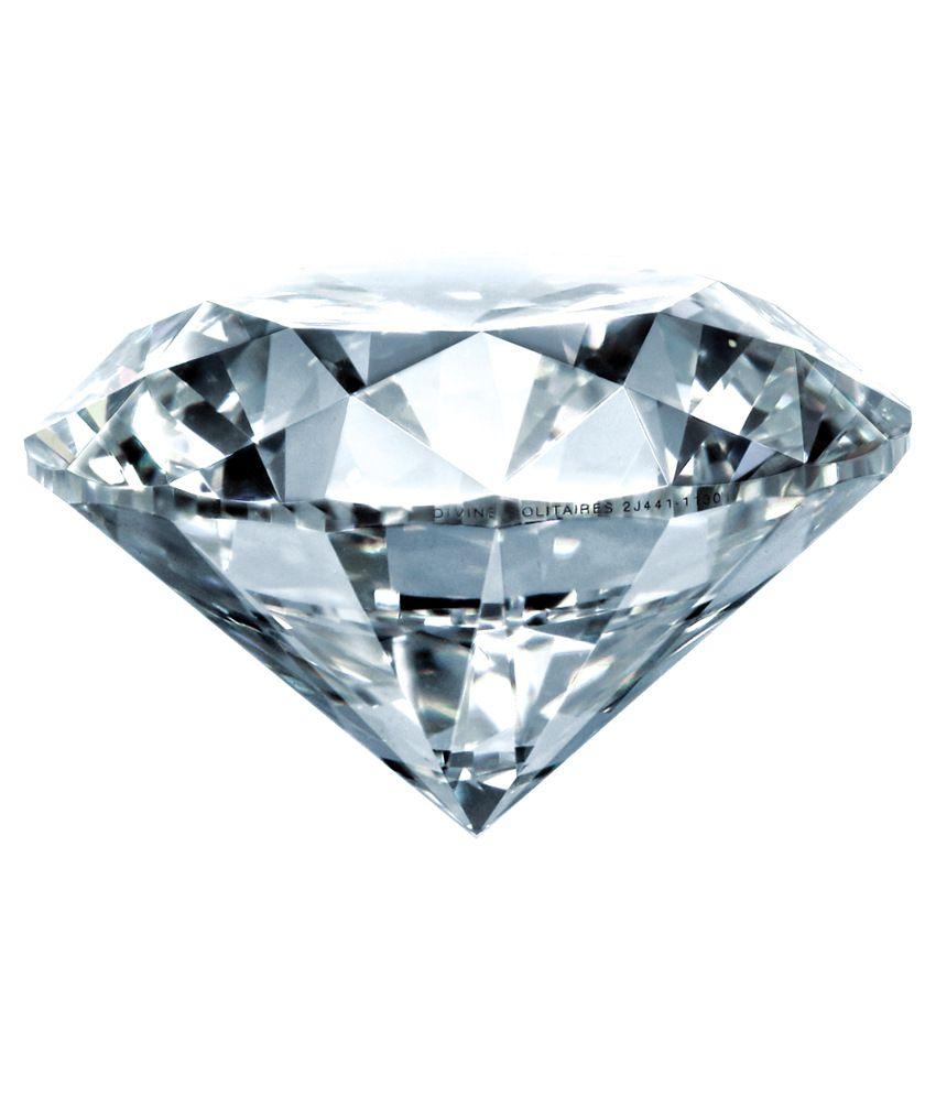 Divine Solitaires 0.26 Ct Vvs2 Loose Diamond