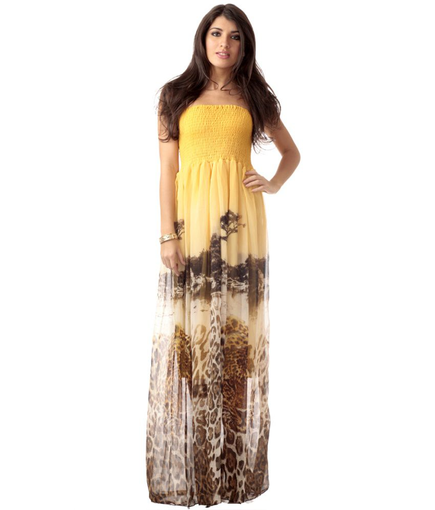 019f873efc37 Buy Heart 2 Heart Yellow Bagheera Halter Neck Beach Dresses Online at Best  Prices in India - Snapdeal